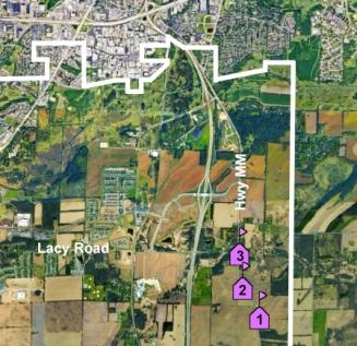 Swan Creek school map